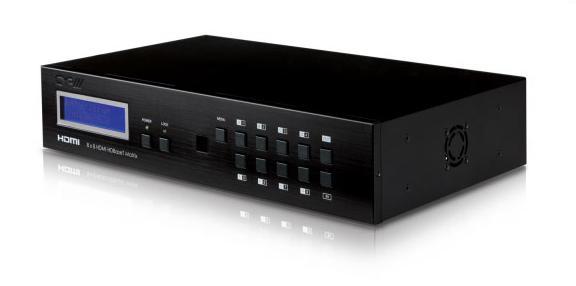 8X8 HDMI HDBaseT Matrix with LAN