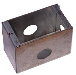 American J Style back box - Metal