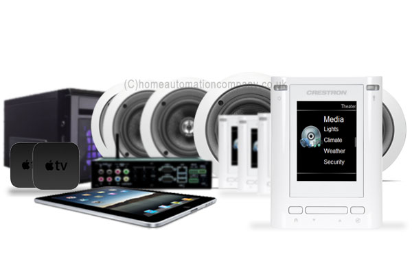 Crestron 6 Zone Audio & HD Multiroom Package