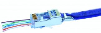 EZ-RJ45 Cat5eCat6+ FTP Connector (Pack of 50)