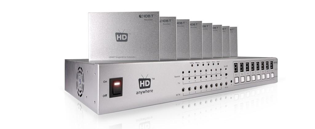 HDanywhere+ 8X8 HDBaseT Matrix Package