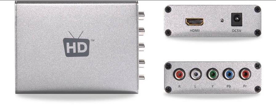 HDMI to Component Convertor