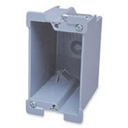 American J Style Single back box - Plastic