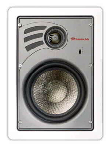 "Destination Audio 6.5"" in-wall speakers"