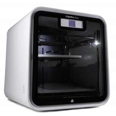 Cube Pro Desktop 3D Printer - 2 Print Heads
