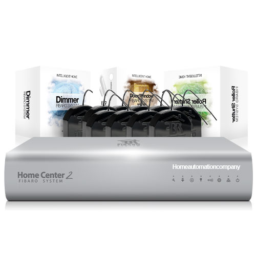 Fibaro 16 Lighting + 4 Blind + 4 Door Bundle